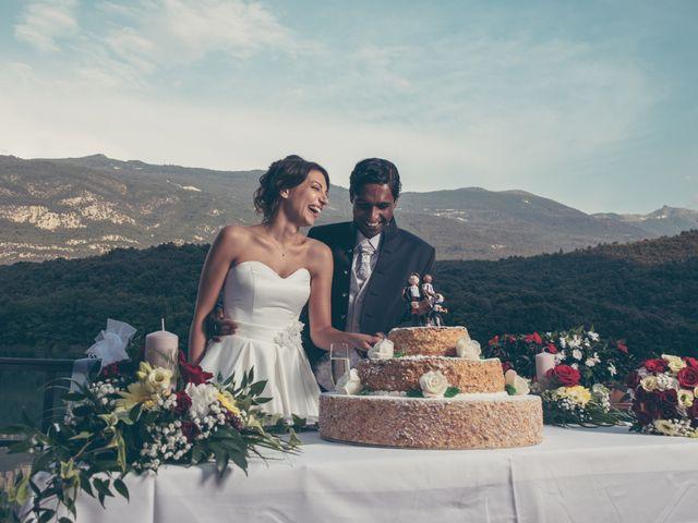Il matrimonio di Arun e Margherita a Vezzano, Trento 1