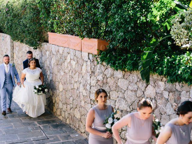 Il matrimonio di Callum e Michelle a Taormina, Messina 13