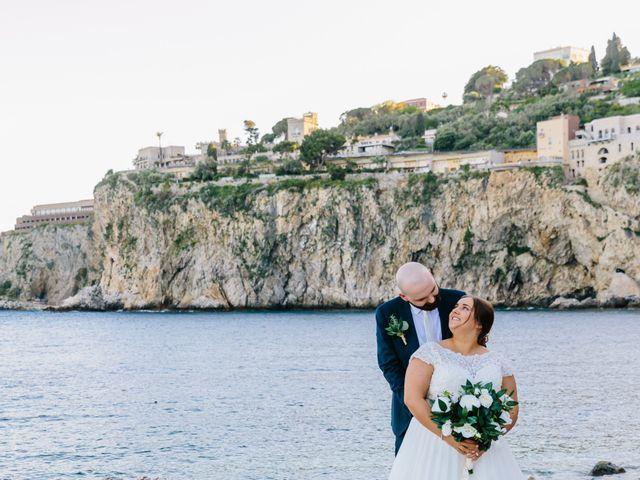 Il matrimonio di Callum e Michelle a Taormina, Messina 2