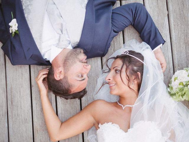 le nozze di Serena e Amedeo