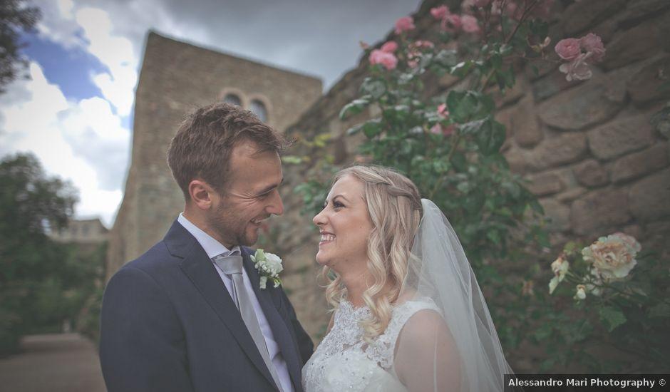 Il matrimonio di Alex e Gianna a Torgiano, Perugia