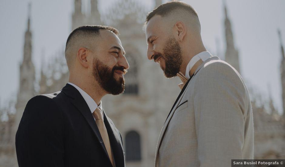 Il matrimonio di Salvatore e Gabriele a Milano, Milano