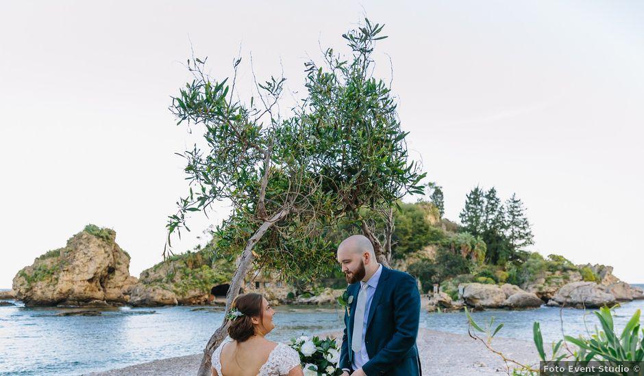 Il matrimonio di Callum e Michelle a Taormina, Messina
