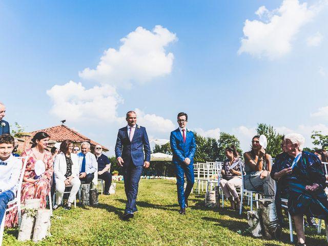 Il matrimonio di Manuel e Jessica a Barbania, Torino 33