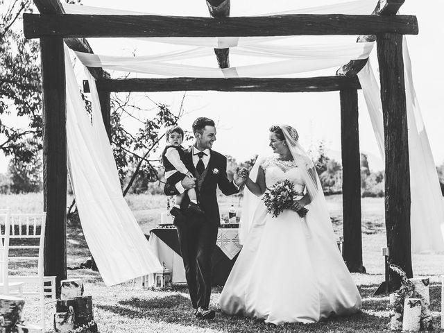 Il matrimonio di Manuel e Jessica a Barbania, Torino 50