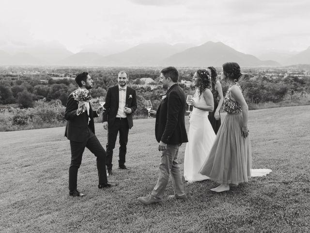 Il matrimonio di Mattia e Erika a Montecchio Precalcino, Vicenza 90