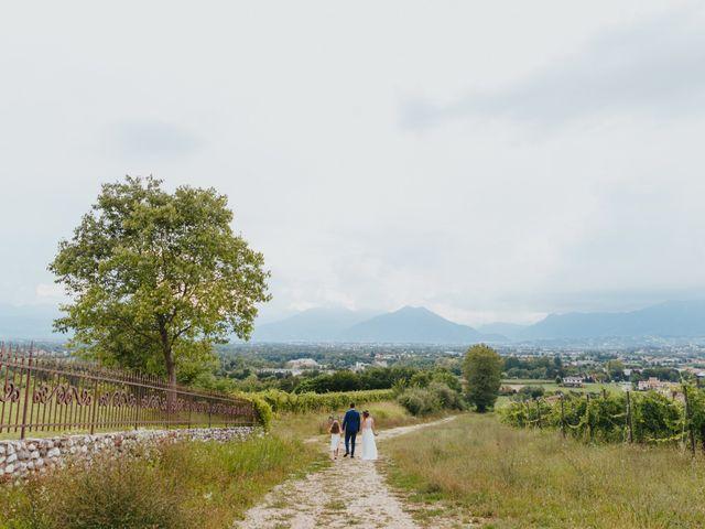 Il matrimonio di Mattia e Erika a Montecchio Precalcino, Vicenza 103