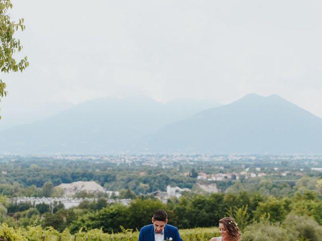 Il matrimonio di Mattia e Erika a Montecchio Precalcino, Vicenza 104