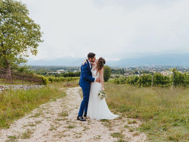 Il matrimonio di Mattia e Erika a Montecchio Precalcino, Vicenza 105