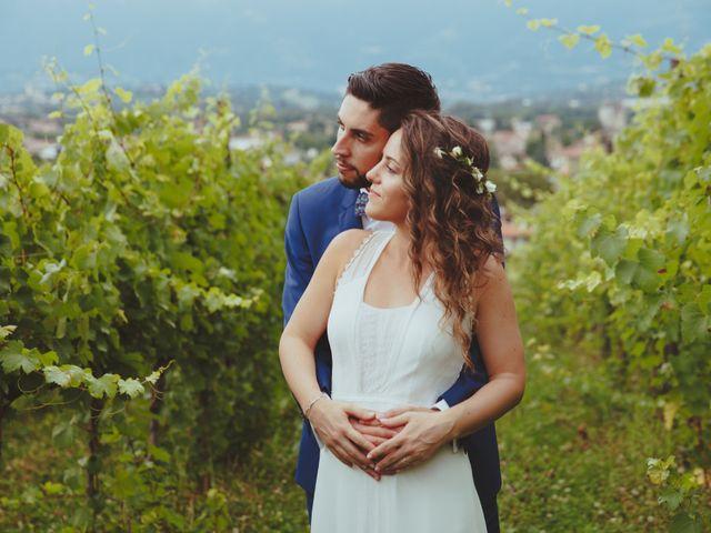 Il matrimonio di Mattia e Erika a Montecchio Precalcino, Vicenza 111