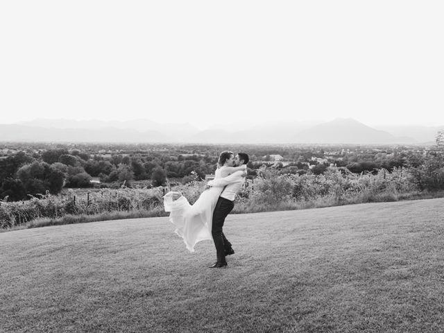 Il matrimonio di Mattia e Erika a Montecchio Precalcino, Vicenza 153