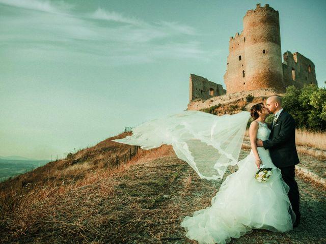 Le nozze di Serena e Claudio