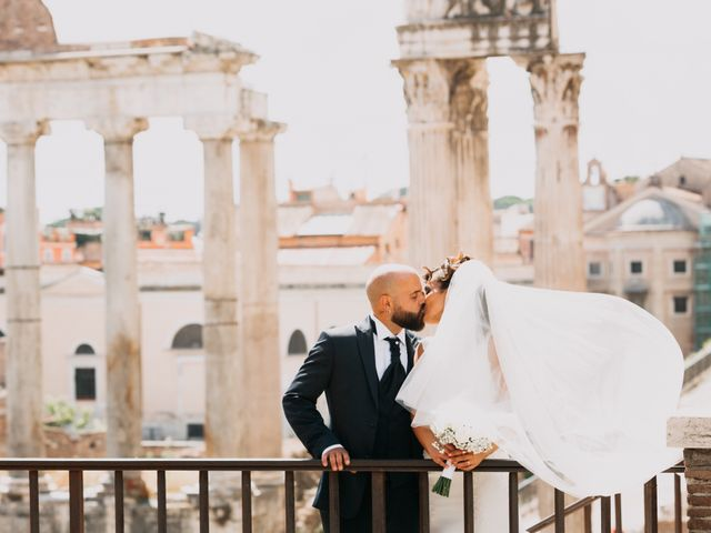 Le nozze di Vanessa e Domenico