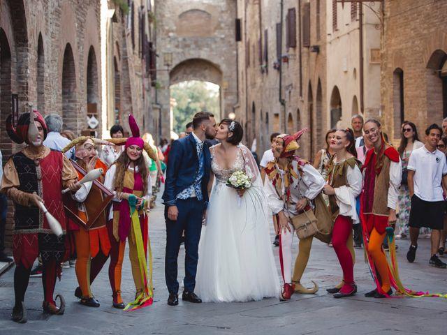 Il matrimonio di Cesare e Giulia a Empoli, Firenze 2