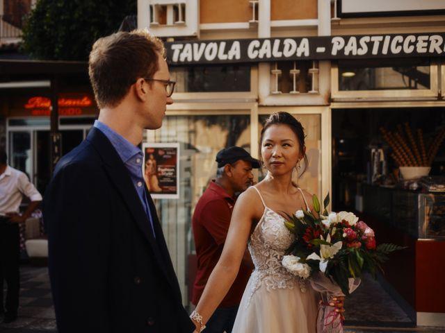Il matrimonio di Phil e Bella a Taormina, Messina 2