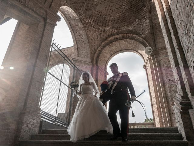 Le nozze di Serena e Giudo