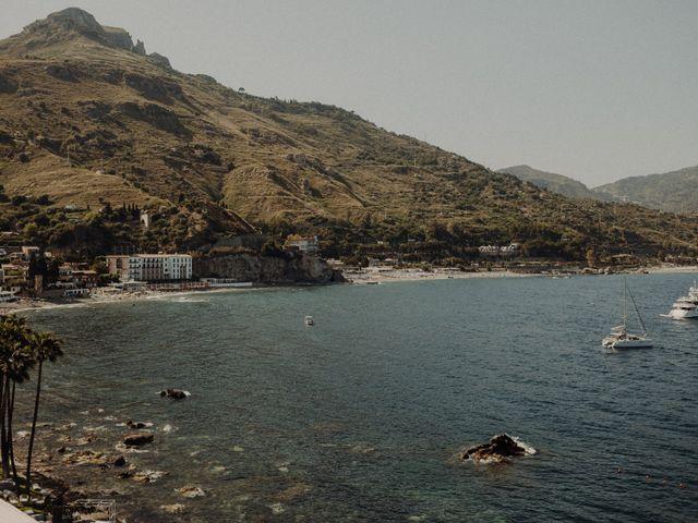 Il matrimonio di Sebastien e Federica a Taormina, Messina 1