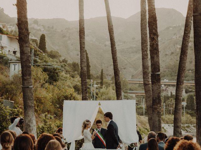 Il matrimonio di Sebastien e Federica a Taormina, Messina 92