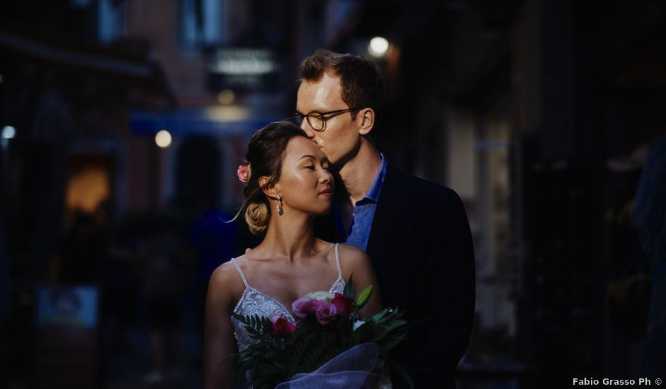 Il matrimonio di Phil e Bella a Taormina, Messina