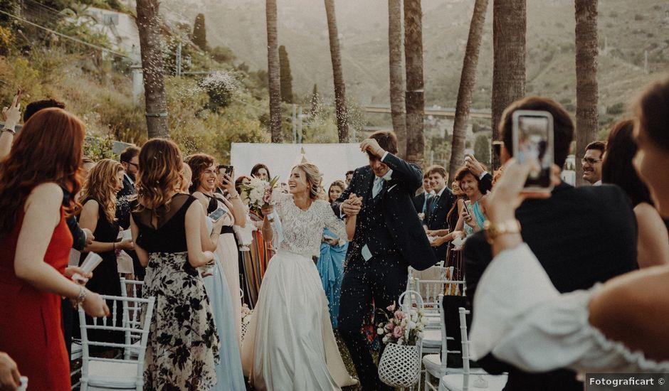 Il matrimonio di Sebastien e Federica a Taormina, Messina