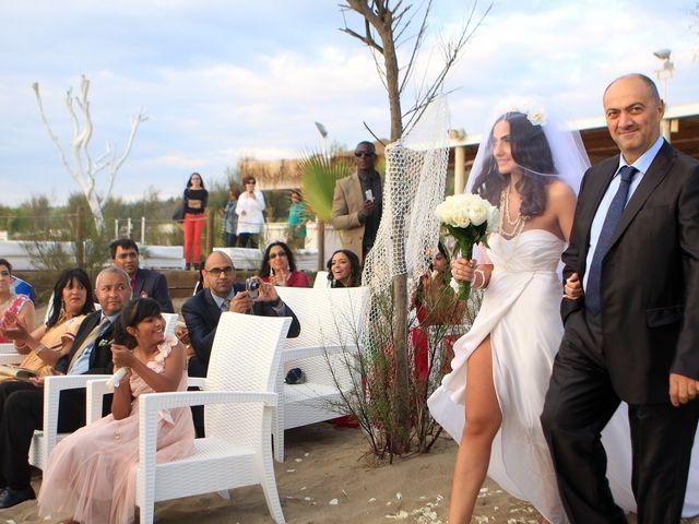 Il matrimonio di Arun e Barbara a Capaccio Paestum, Salerno 52