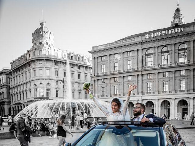 Il matrimonio di Matteo e Alessia a Genova, Genova 21