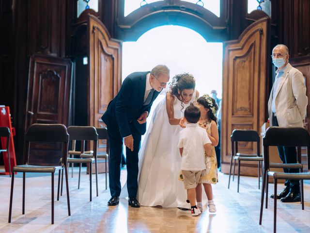 Il matrimonio di Jader e Ilaria a Busto Garolfo, Milano 31