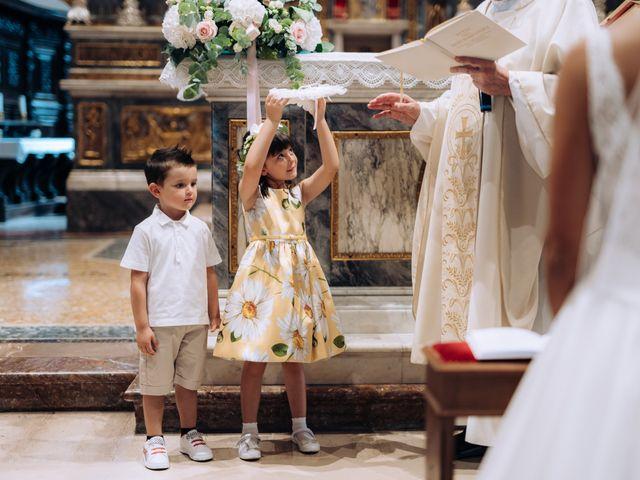 Il matrimonio di Jader e Ilaria a Busto Garolfo, Milano 36