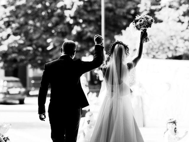 Il matrimonio di Jader e Ilaria a Busto Garolfo, Milano 41