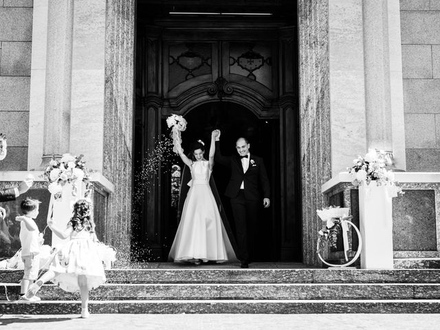 Il matrimonio di Jader e Ilaria a Busto Garolfo, Milano 42