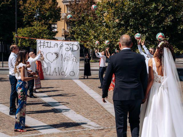 Il matrimonio di Jader e Ilaria a Busto Garolfo, Milano 43
