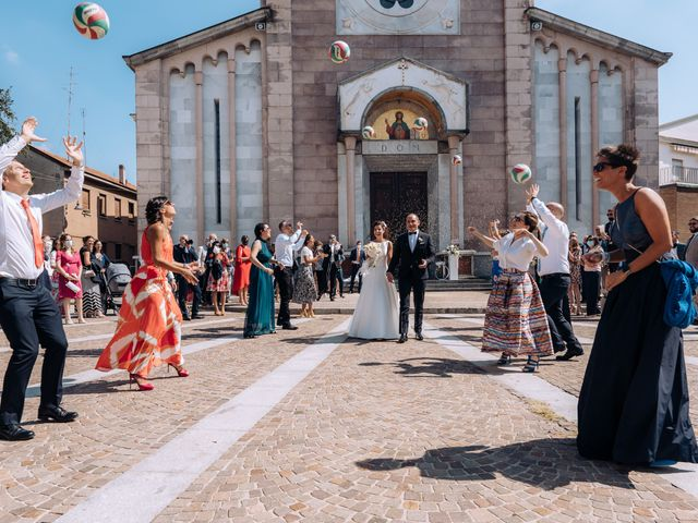 Il matrimonio di Jader e Ilaria a Busto Garolfo, Milano 44