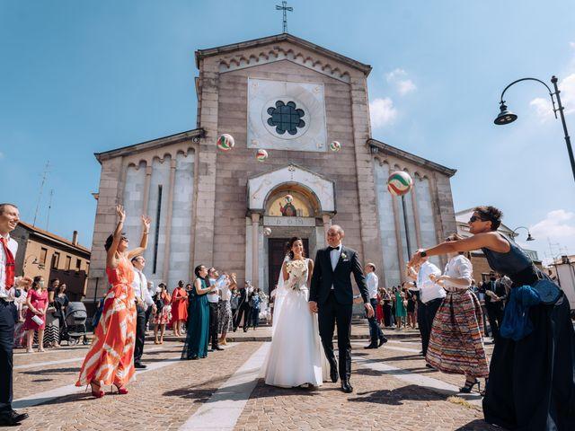 Il matrimonio di Jader e Ilaria a Busto Garolfo, Milano 45