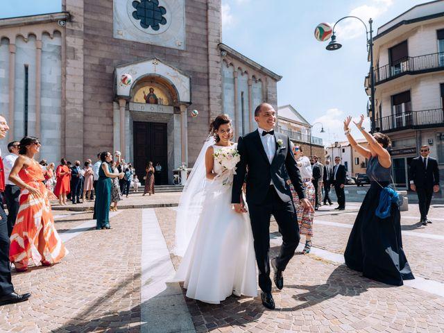 Il matrimonio di Jader e Ilaria a Busto Garolfo, Milano 46