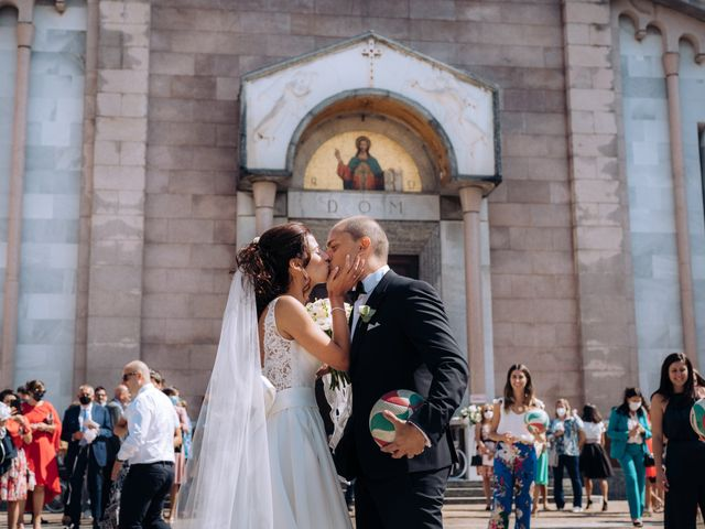 Il matrimonio di Jader e Ilaria a Busto Garolfo, Milano 47