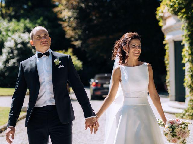 Il matrimonio di Jader e Ilaria a Busto Garolfo, Milano 56