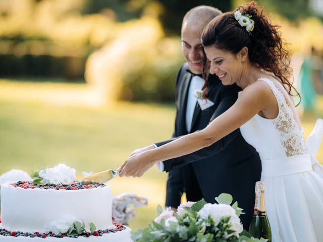 Il matrimonio di Jader e Ilaria a Busto Garolfo, Milano 72
