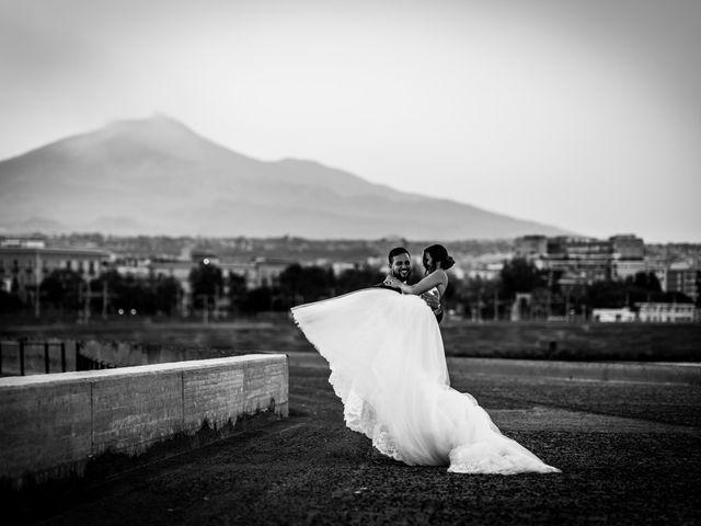 Il matrimonio di Emanuela e Santi a Catania, Catania 40