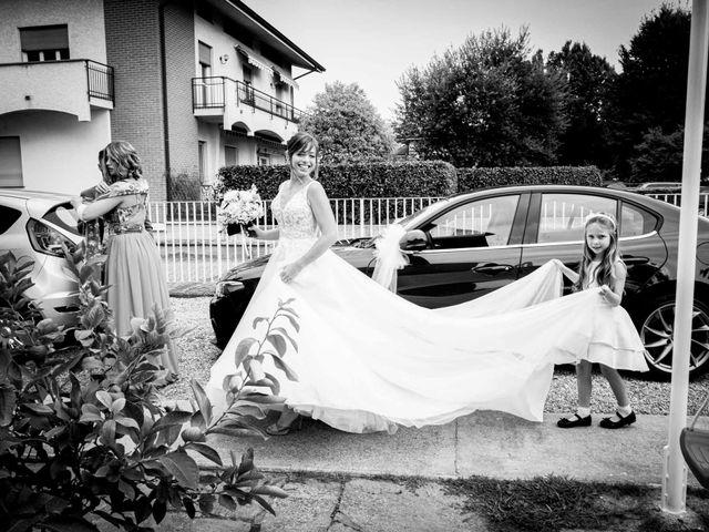 Il matrimonio di Davide e Elisa a Roppolo, Biella 32