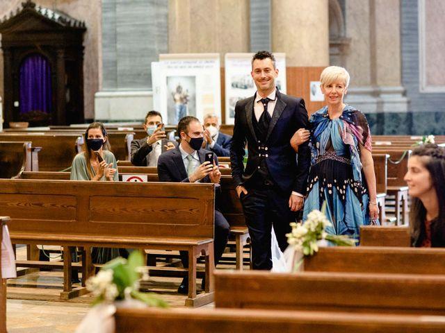 Il matrimonio di Davide e Elisa a Roppolo, Biella 36