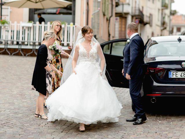 Il matrimonio di Davide e Elisa a Roppolo, Biella 38