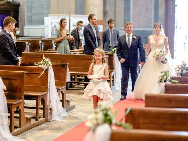 Il matrimonio di Davide e Elisa a Roppolo, Biella 40