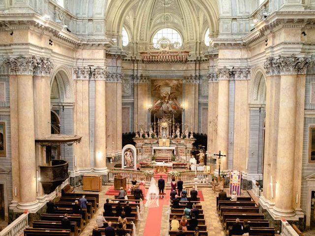 Il matrimonio di Davide e Elisa a Roppolo, Biella 43