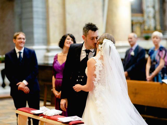 Il matrimonio di Davide e Elisa a Roppolo, Biella 47