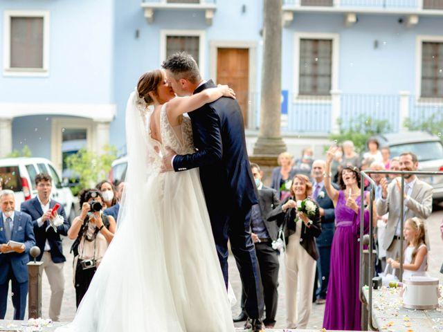 Il matrimonio di Davide e Elisa a Roppolo, Biella 53