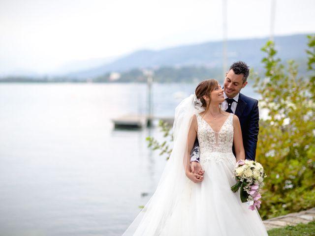 Il matrimonio di Davide e Elisa a Roppolo, Biella 54