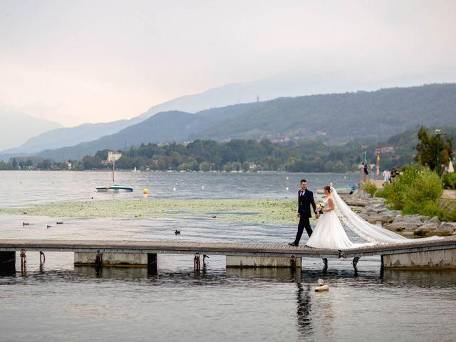 Il matrimonio di Davide e Elisa a Roppolo, Biella 58