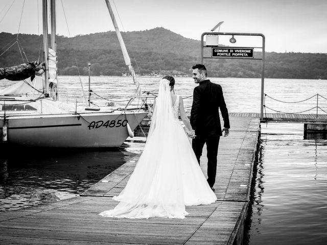 Il matrimonio di Davide e Elisa a Roppolo, Biella 63