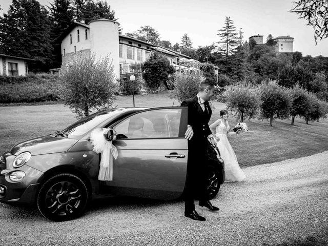 Il matrimonio di Davide e Elisa a Roppolo, Biella 68