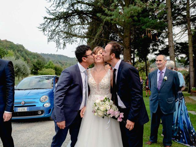 Il matrimonio di Davide e Elisa a Roppolo, Biella 69